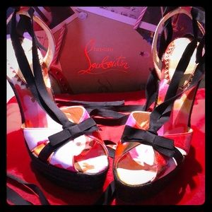 Louboutin Isabelle 140 wedge